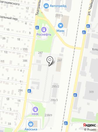 Длинномер на карте