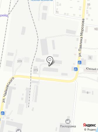 Компания по производству металлических дверей и гаражных ворот на карте