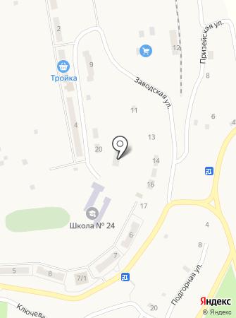 Школа искусств с. Белогорье на карте