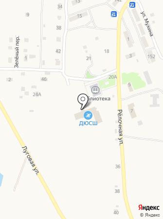 Амурская областная ДЮСШ на карте