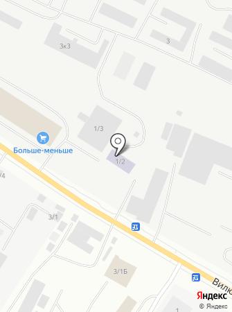Специализированная штрафстоянка на карте