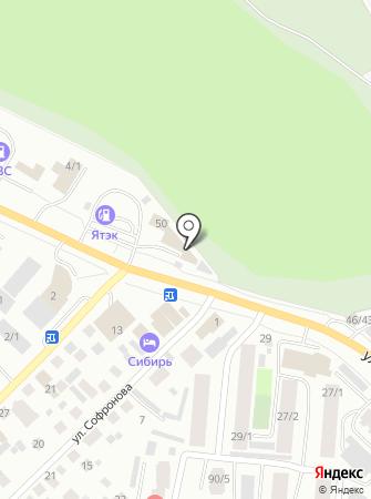 Автосервис на ул. Петровского на карте