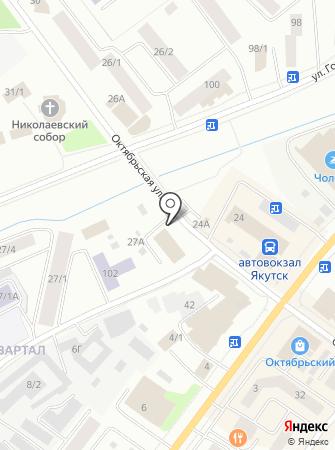 Дальгидропроект на карте