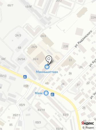 ЯКУТСКЭНЕРГО, ПАО на карте