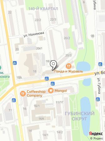 Видеонаблюдение на карте