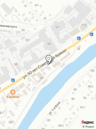 ДАКАР на карте