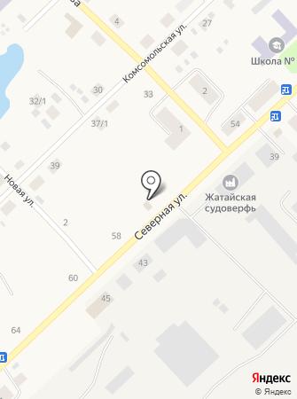 Северный-3 на карте