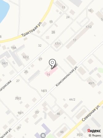 Детское отделение АСО№3 на карте