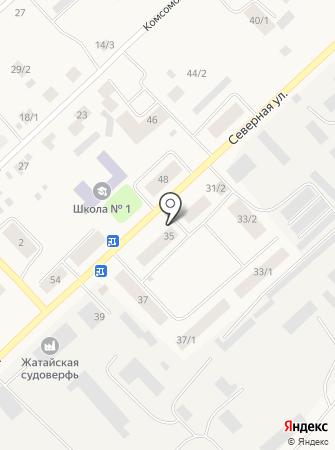 Аква Жатай на карте