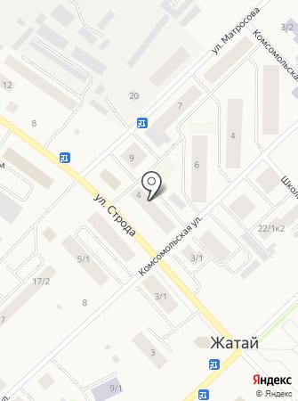Жатайский ветеринарный пункт на карте