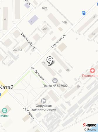 Фламинго-2 на карте