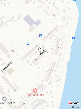 Сахамедстрах, АО на карте