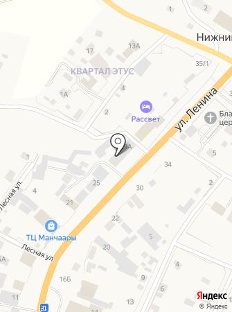 Сиибиктэ на карте