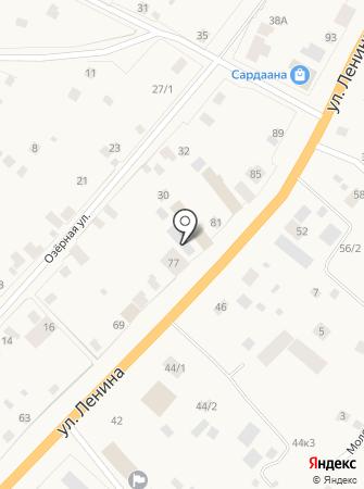 Ньургуhун на карте