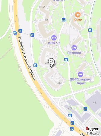 Драшакон на карте