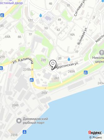 Клио на карте