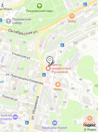 Центр стоматологии профессора Русаковой на карте
