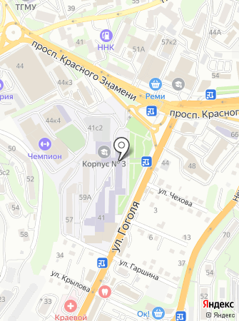 Дальневосточный центр непрерывного образования на карте