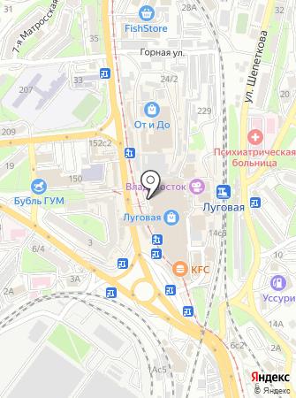 Золотой талисман на карте