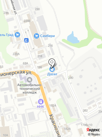 Комffорт на карте