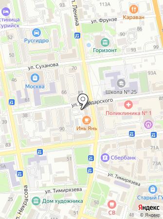 Уссурийская городская прокуратура на карте