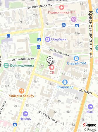 СВ на карте