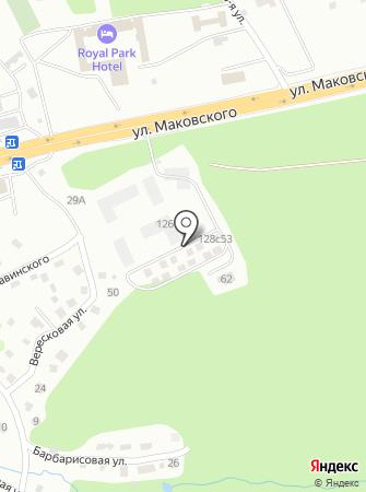 ГРАД-С на карте