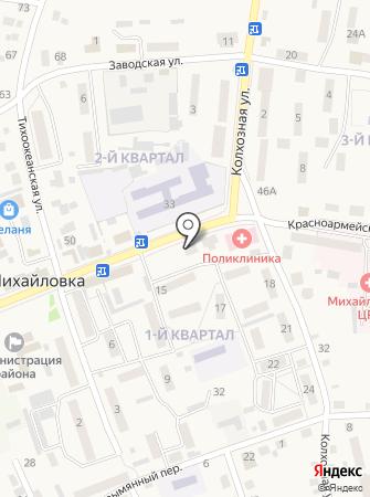 Вивид на карте