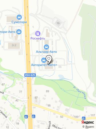 Nissan на карте