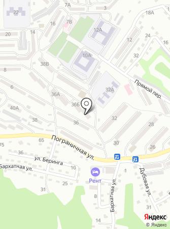 Новолитовский на карте