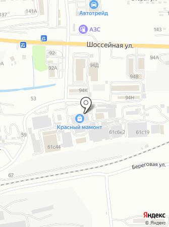Табакерка-Находка на карте