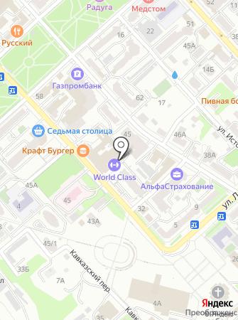 Doberman на карте