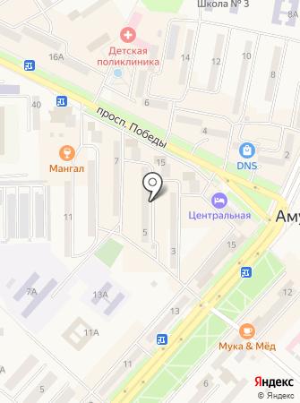 Всероссийское общество инвалидов Амурского района на карте