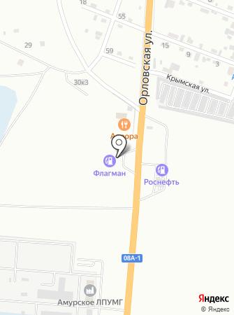 АЗС Флагман на карте