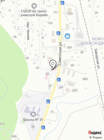 Сахалинский областной наркологический диспансер на карте