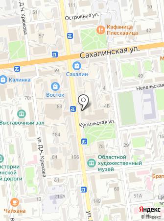 Центр управления в кризисных ситуациях на карте