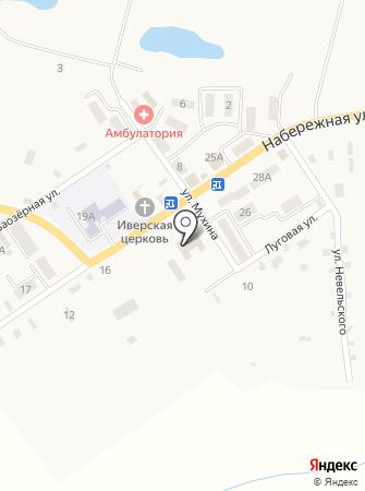 Детская школа искусств на карте