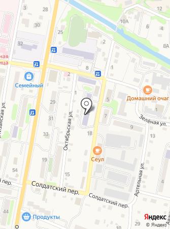 Лидер на карте