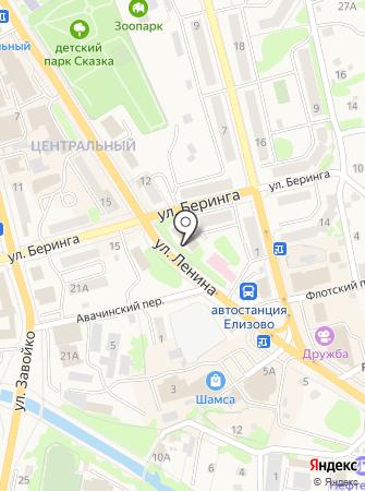 Дума Елизовского муниципального района на карте