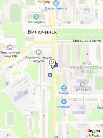 Парикмастерский магазин на карте