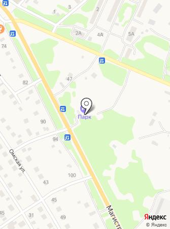 Сауна на Магистральной на карте