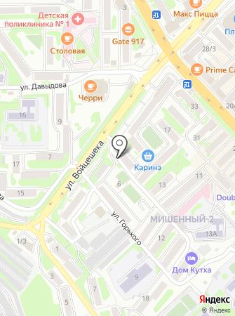 ЖЭУ №6 на карте