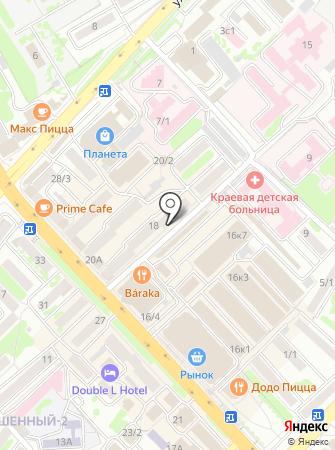 Адвокатский кабинет Купрюшина Л.А. на карте