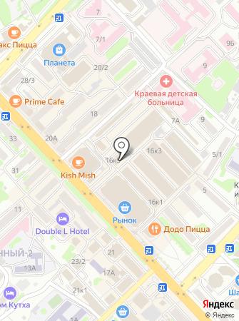 Сотовик на карте