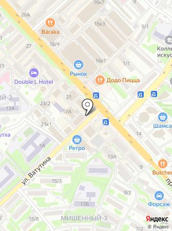 Банкомат, Камчаткомагропромбанк, ПАО на карте