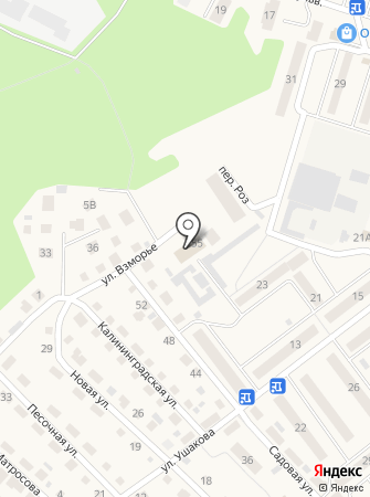 Балтийский городской суд на карте