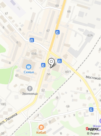 Мультимаркет на карте
