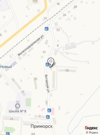 Администрация Приморского городского поселения на карте