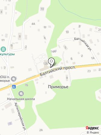 Приморье на карте