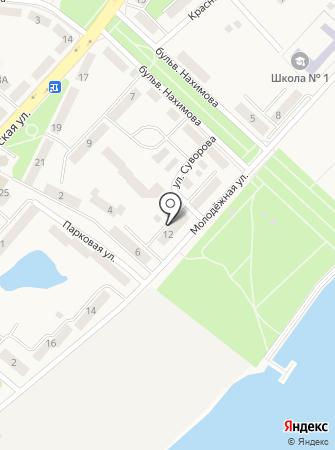 Отдел социальной поддержки населения на карте